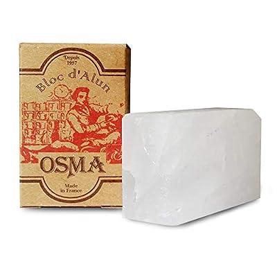 Osma Bloc - Alum Block 75g (Soothes Shaving Irritation) from Osma Laboratoires