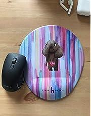 Cico Bilek Destekli Mousepad Ofis Hediye Renkli Tasarımlar