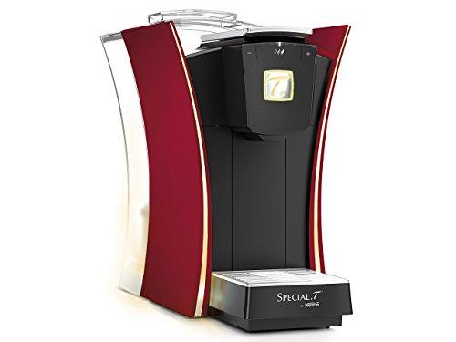 ネスレ(Nestle) カプセル式 ティーマシン SPECIAL.T MyT(マイ・ティー) プレミアム 味の濃さ調節機能搭載 レッド ST9662P.62-PR