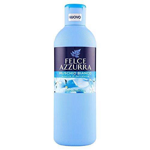 Felce Azzurra Bagnodoccia Moschus weiß–6Packungen mit 650ml–insgesamt: 3900ml