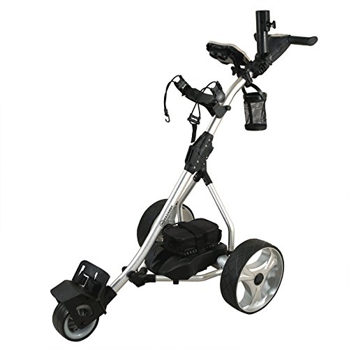 NovaCaddy S2R Remote Control Electric Golf Trolley Cart, Lithium Battery, Silver