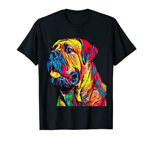 Cane Corso T Shirt italienisches Mastiff Kopf Hund Pet