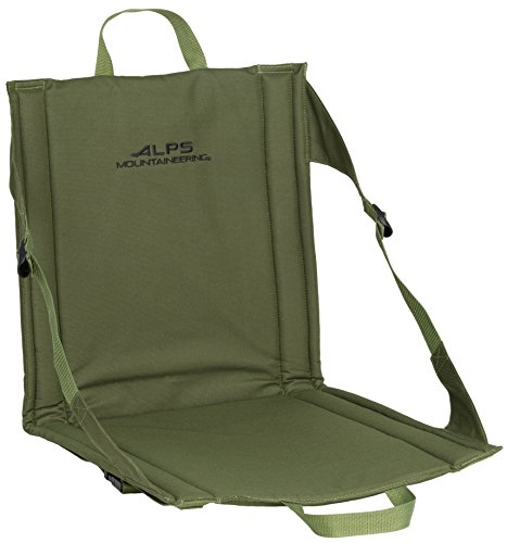 ALPS Mountaineering Weekender Seat (Green), 17 x 33 x 0.5/Regular (6811017)