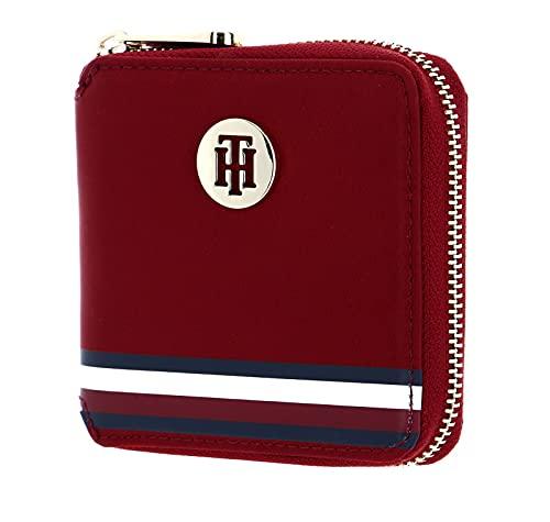 Tommy Hilfiger Poppy Medium Zip Around Wallet Regatta Red Corporate