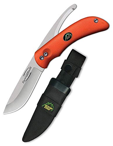 OUTDOOR EDGE Uni Swing Blaze Klappmesser-SWINGBLAZE (Orange) -Klingenlänge: 9,14 cm, Mehrfarbig, 90 mm