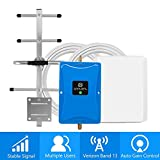 Cell Phone Signal Booster for Verizon 4G LTE - Boosts Voice and Data for Home and Office Up to 4,500 Sq Ft - 700MHz Band 13 Verizon Signal Booster Repeater with High Gain Panel/Yagi Antennas