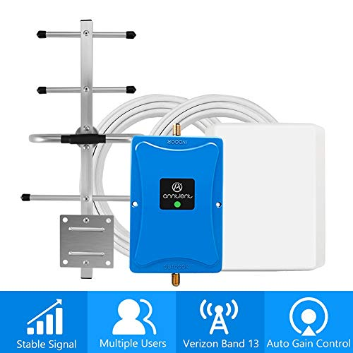 Cell Phone Signal Booster for Verizon 4G LTE - Boosts Voice and Data for Home and Office Up to 4,500...