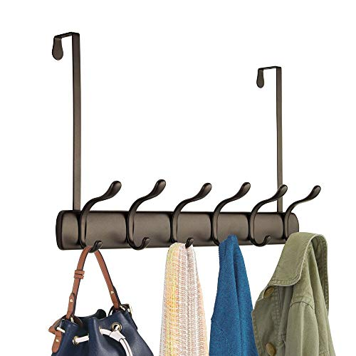 mDesign – Perchero de ropa - 10 ganchos para perchero de...