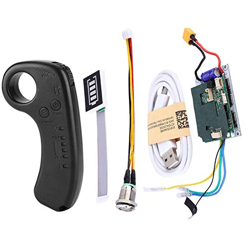 Fishlor Elektro Skateboard Controller, Elektro Skateboard Controller Longboard Single Drive ESC Ersatz Control Mainboard mit Fernbedienung