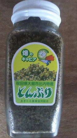 国産 ( 秋田県 ) とんぶり 300g 瓶 × 6本  畑のキャビア 限定品