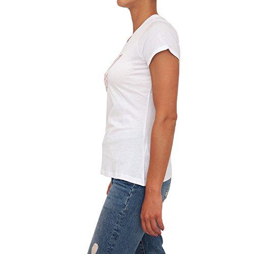 GUESS Camiseta W82I11-K51R0-A996 SS RN Eyelets M Negro (Ropa)