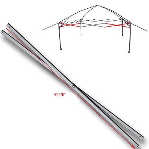 for Coleman 13 x 13 Instant Eaved Shelter Canopy Costco Side Truss Bar Replacement Parts 41 1/8'