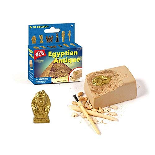 XX Excavation Dig Kit for Kids Egyptian Mummy Toy 6 Styles to Collect