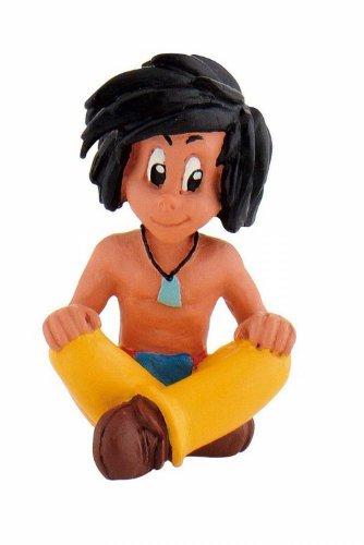 Bullyland 43360 - Spielfigur, Yakari, Kleiner Dachs, ca. 4,3 cm