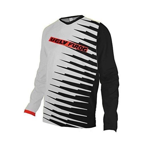 Uglyfrog Winter Thermal Fleece Racing Downhill Jersey Men's Cycling Mountain Bike Wear Long Sleeves Shirt Sportswear