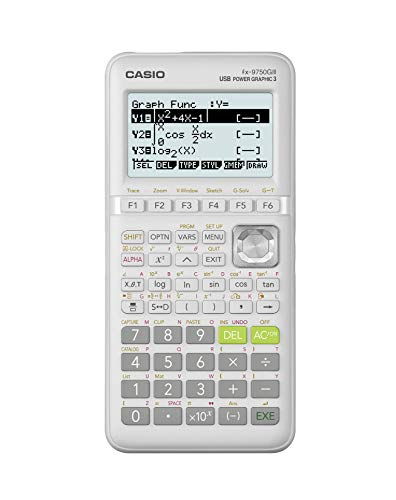 Casio fx-9750GIII Calculadora gráfica Blanca (fx-9750GIII-WE)