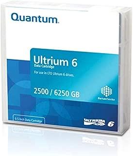 Quantum LTO-6 (MR-L6MQN-02) Ultrium-6 Data Tape Cartridge (2.5TB/6.25TB)