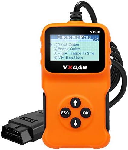 VXDAS OBD2 Scanner Car Diagnostic Scan Tool Check Engine Light Universal OBDII Code Reader Smog product image