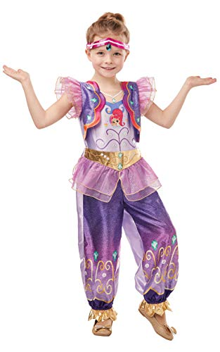 Rubie's- Official Shimmer & Shine Disfraz, Multicolor, medium (300239M)