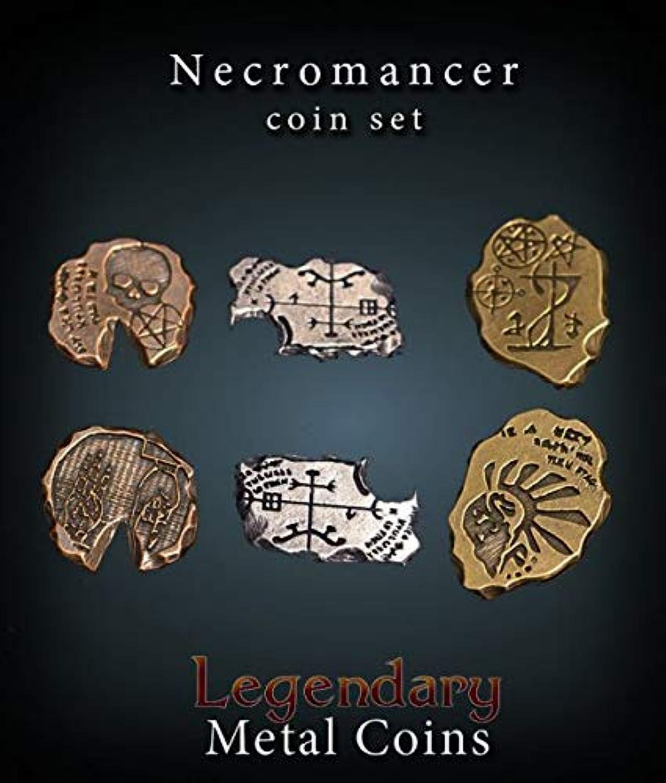 Legendary Metal Coins Necromancer Set B07K3BKR52 Zuverlässige Leistung     | Ab dem neuesten Modell