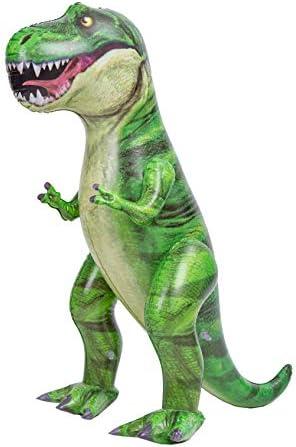 JOYIN 37 T Rex Dinosaur Inflatable Tyrannosaurus Rex Inflatable Dinosaur Toy for Pool Party product image