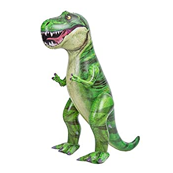 """37"""" T-Rex Dinosaur Inflatable for Pool Party Decorations Tyrannosaurus Rex Inflatable Dinosaur Toy  Dinosaur Birthday Party Gift for Kids and Adults"""