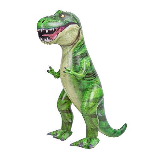 JOYIN 121cm Dinosaurier aufblasbar, Tyrannosaurus Rex aufblasbares Dinosaurierspielzeug für Halloween Party Dekoration Dino Geburtstagsfeiergeschenk für Kinder und Erwachsene