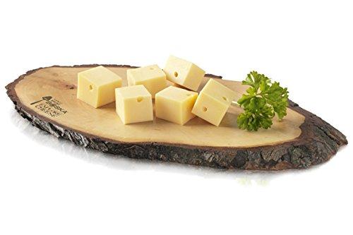 Tagliere per formaggio in frassino massiccio 2cm di spessore Lavabile in lavastoviglie Dimensioni: 270x 120x 20mm Peso: 218g
