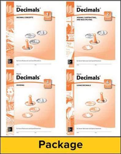 Key to Decimals, Books 1-4 Set (KEY TO...WORKBOOKS)