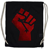 Turnbeutel Motiv Red Raised Fist von Urban Backwoods
