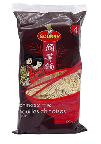 SOUBRY Chinesische instant Mie Nudeln 12er Vorteilspack (12x250g)