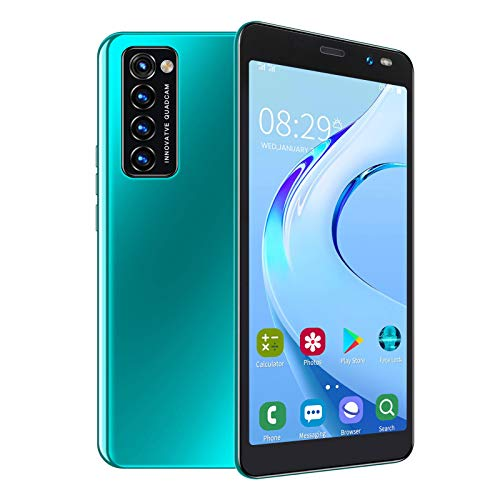 Hyuduo1 Smartphone 2021, 3G Rino4 Pro 5,45 Zoll HD Entsperrtes Handy, MTK6572 Dual-Core CPU Dual SIM Dual Kamera Handy 2MP+5MP, Unterstützt APP Gesichtserkennung, 1+8G, für Android 6.0