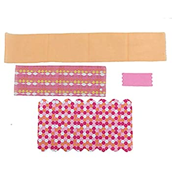 Replacement Parts for Barbie Dreamhouse - Barbie Doll Dream House Dollhouse FHY73 and FHY74   Includes Blanket Towel Shower Curtain and Canopy