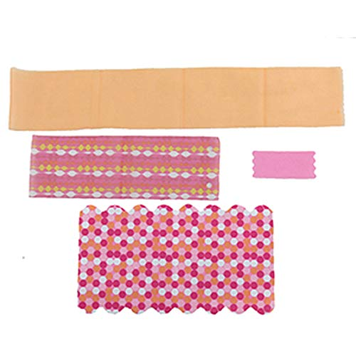 Replacement Parts for Barbie Dreamhouse - Barbie Doll Dream House Dollhouse FHY73 and FHY74   Includes Blanket, Towel, Shower Curtain and Canopy