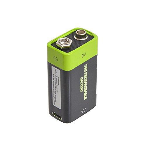 充電器不要!USB充電できる乾電池 サンコーレアモノショップ (9V形)