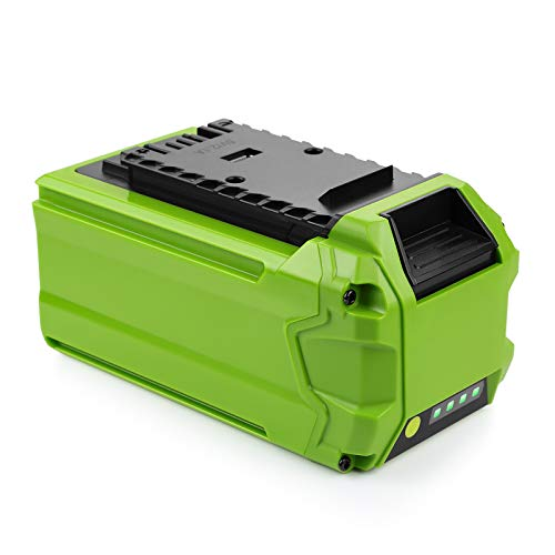 ANTRobut 40V 5.0Ah Lithium Battery Replacement for Greenworks 40V G-MAX Battery 29472 29462 with USB Port for Greenworks Battery Compatible with Greenworks 40V Tools 24252 25322 20262 29252 20202