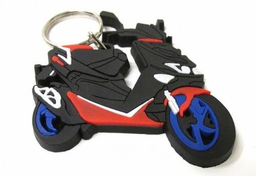 Streetparts24 Schlüsselanhänger Anhänger Aprilia SR 50 Roller Scooter Geschenk