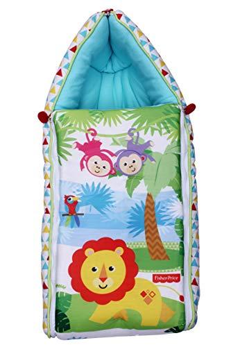 Fisher Price SB01 Multi Utility Convertible Baby Sleeping Bag (Multicolor)