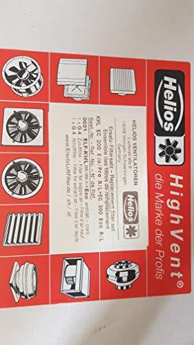 Helios Ersatz Luftfilter zu KWL EC200/300 Eco