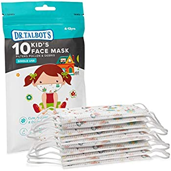 10-Pack Nuby Dr. Talbot's Disposable Kids Face Mask