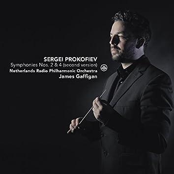 Prokofiev: Symphonies No. 2 & No. 4 (Second Version)