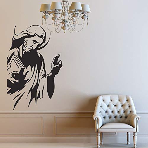 De Arte de Pared de Creencias Religiosas Dios Espíritu Divino Decoración de Sala de Estudio de Vinilo   Decoración del banquete de boda de la sala de estar del dormitorio de la muchacha
