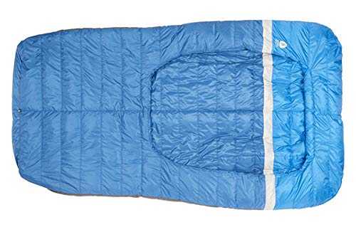 Sierra Designs Backcountry Bed 35, Lightweight Zipperless 35 Degree Backpacking Sleeping Bag with...