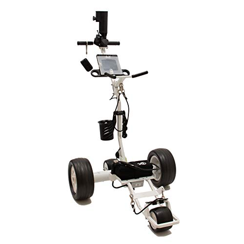 Cart-Tek Electric Golf Push cart with Remote Control - Gri-1350Lh Best Priced Lithium Battery...
