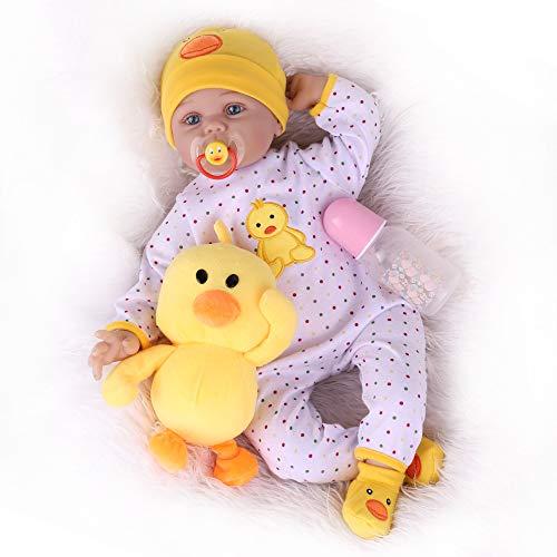 Kaydora Reborn Baby Doll, 22 inch Weighted Newborn Baby Girl