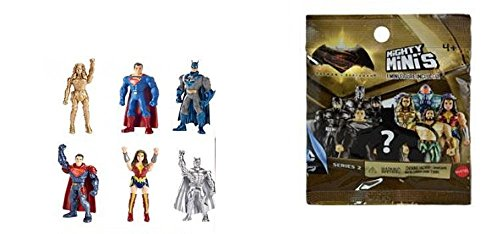 Mighty mini`s batman v superman aveugle packs MATTEL nouveau