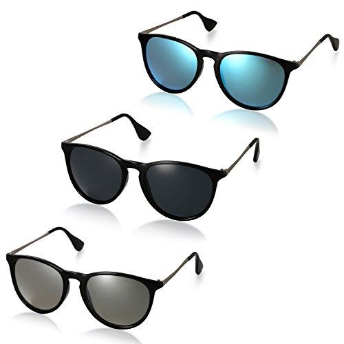 Neu Damen-Designer polarisierte Sonnenbrille übergroße treibende Eyewear UV400 3