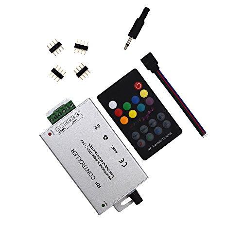 RF 18 Key Music-Controller (12A) für 5050 3528 LED-Streifen-Module RF-Fern 12~24V
