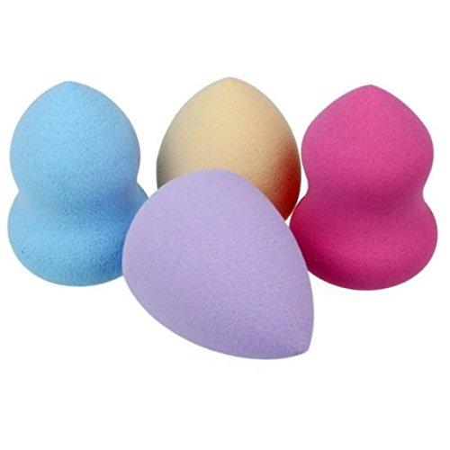 Beautyblender Schwamm, Switchali 4pcs Proschönheits Makeup Blender Foundation Puff Form Schwämme