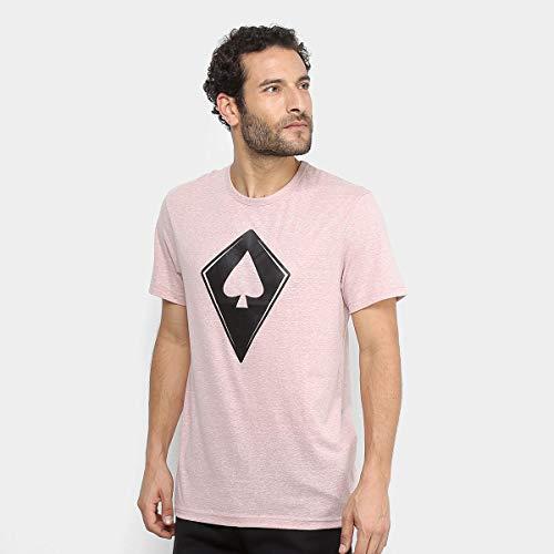 Camiseta MCD Pipa Rosa Mescla-P